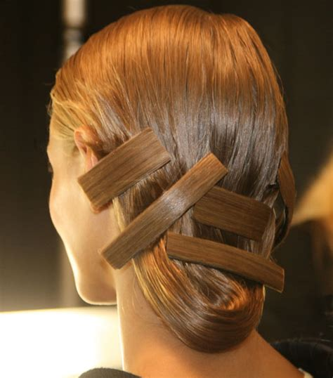 Origami Hair - orlando pita s origami inspiration for carolina herrera