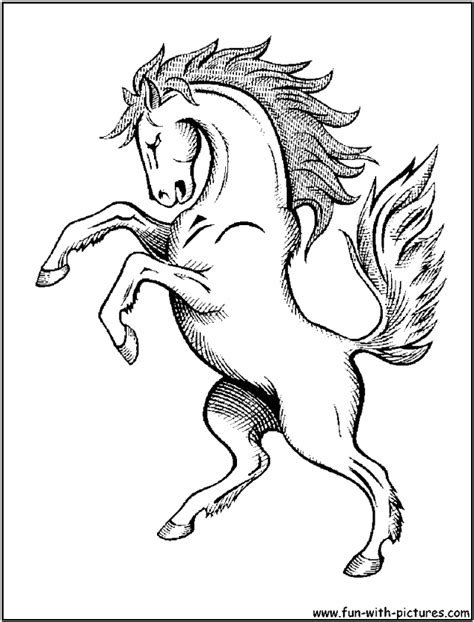 coloring pages of mustang horses free coloring pages of mustang horses