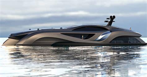 batmobile yacht  yacht resembles  batmobile