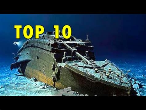 Titanic 2012 Curse Of Rms Titanic top 10 shipwrecks titanic britannic andrea