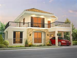 Sample Floor Plan For 2 Storey House sta sofia amanda model house and lot for sale in