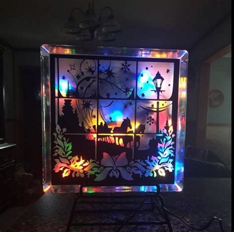 decorative glass blocks with lights 7 best images about glass block ideas on pinterest