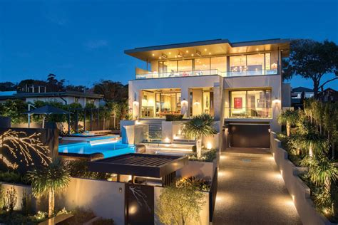 home design style resort contemporary home in melbourne with resort style modern landscaping idesignarch interior
