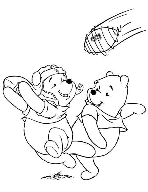 disney football coloring page football printable coloring pages coloring home