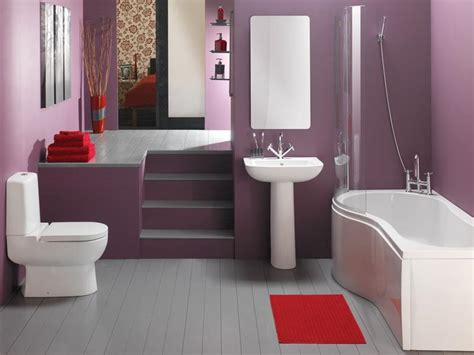 purple color bathroom bathroom chic neutral purple paint color ideas for small