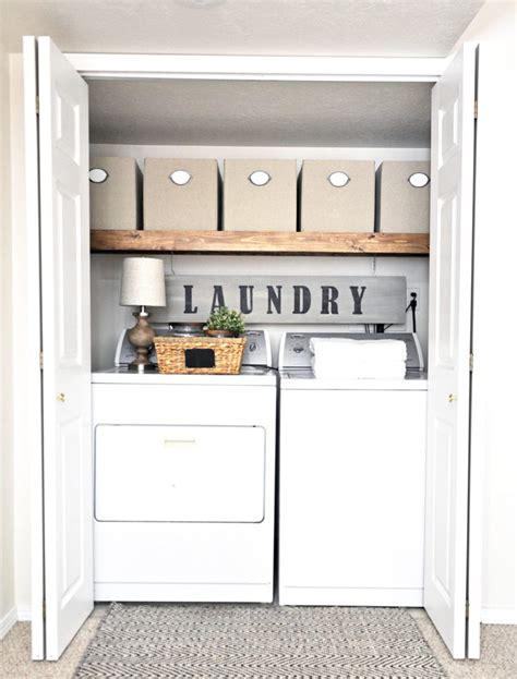 Easy Room Makeover easy laundry room makeover cherished bliss