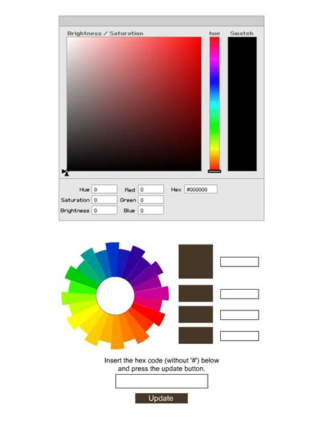 hex color generator memasang hex color code generator di