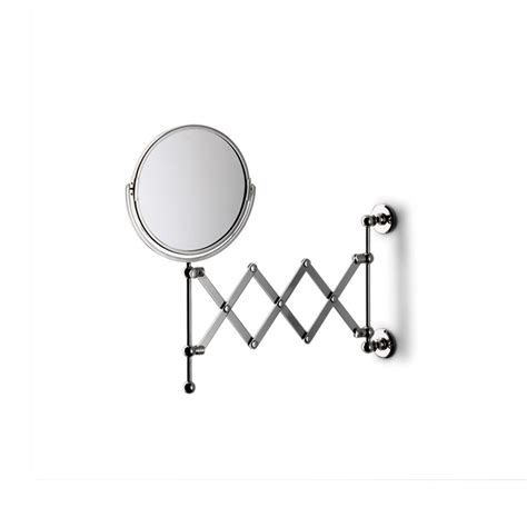 bathroom mirror wall mount with extension arm crystal wall mounted magnifying extension mirror dering hall