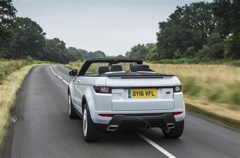 convertible land rover discovery range rover evoque convertible review 2017 autocar