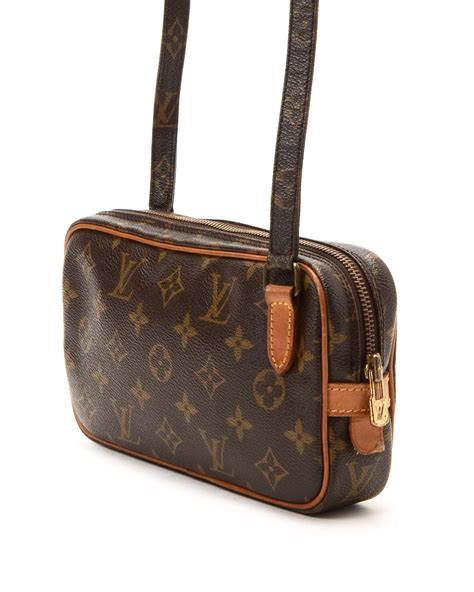 Louis Vuitton Tressage Classic 2993 louis vuitton crossbody vintage in brown lyst