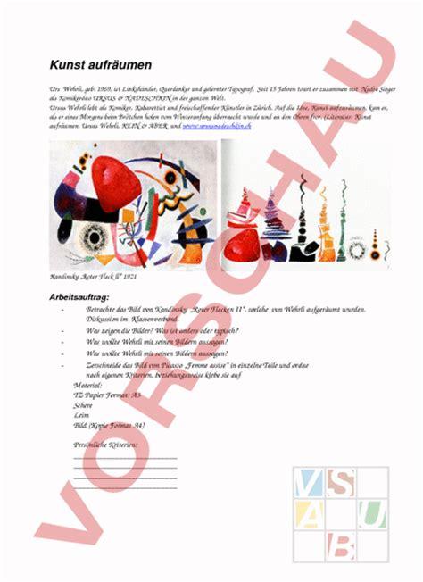 kunst für küche www unterrichtsmaterial ch bildnerisches gestalten