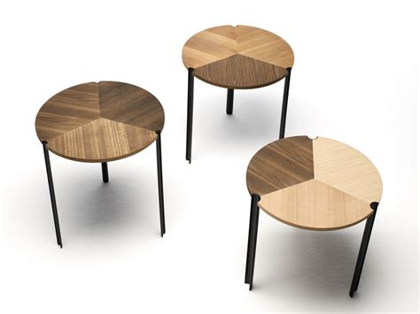 low stackable modular wooden coffee table starsky by