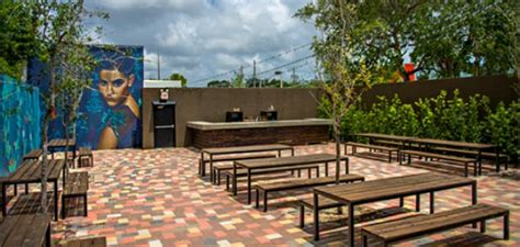 brick house wynwood brick house miami bourbon beer and a dance patio in wynwood