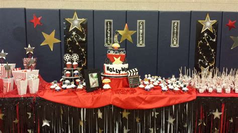 red carpet themed birthday party red red carpet hollywood golden statue birthday party
