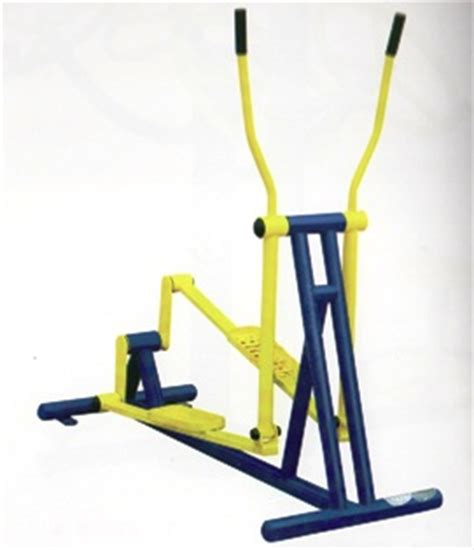 elliptical swing elliptical machine at outdoor fitness