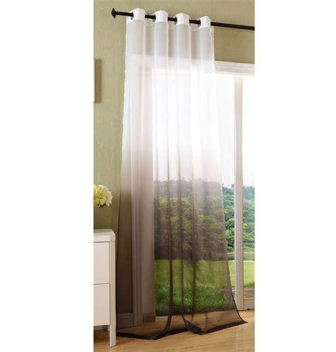 Schal Vorhang by Vorhang Transparent Schal 214 Sen Gardine Voile Farbverlauf