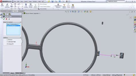 Solidworks Tutorial Glasses | 5310060024 solidworks hw11 glasses frame explore view