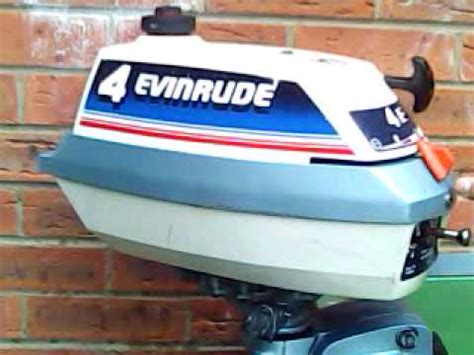 10ft jon boat with 4hp dinghy with evinrude 4hp outboard motor doovi