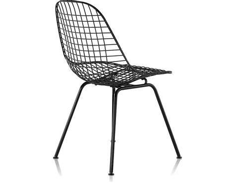 eames wire side black wire chair best home design 2018