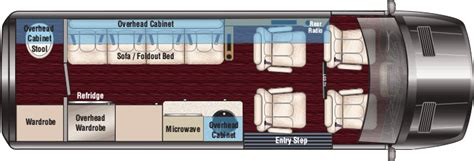 sprinter rv floor plans sprinter rv midwest automotive