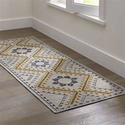 Crate And Barrel Kitchen Rugs Bessie Dove Wool Dhurrie Rug Runner Crate And Barrel