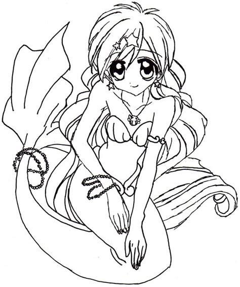 Hanon Mermaid Melody By Karysan On Deviantart Mermaid Melody Coloring Pages