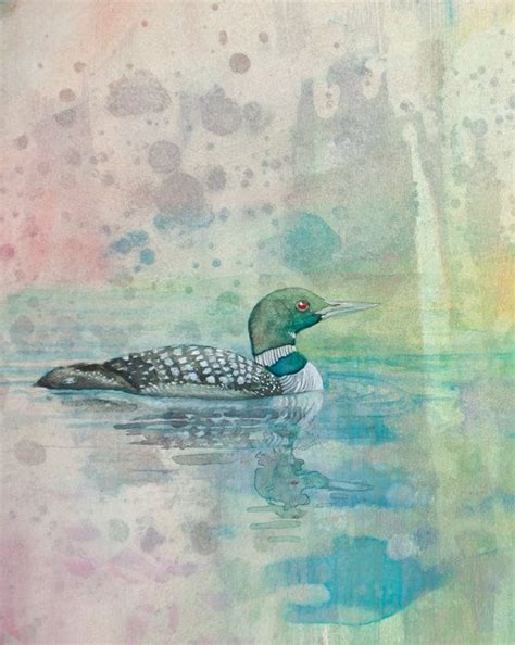 watercolor tattoos ontario 17 best images about loon tattoos on