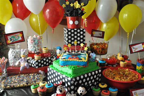 Mickey Mouse Table Decorations by Mickey Mouse Table Decorations Ideas Photograph Journey To