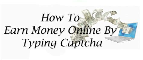 How To Make Money Online Data Entry - how to make money online by typing captchas howsto co