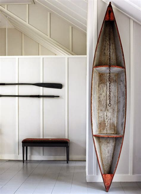 decorative boat  oars decor nautical handcrafted