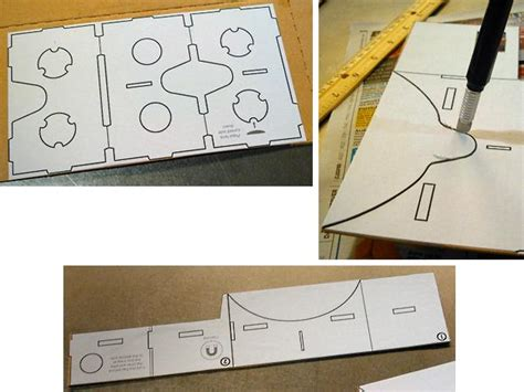 Diy Build Your Own Google Cardboard Vr Viewer Computerworld Vr Cardboard Template