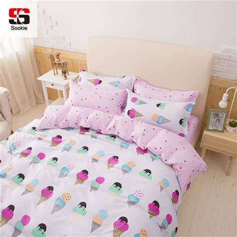 Double Duvet Sets Uk ᐊsookie Pretty Pink 3pcs ᗔ Bedding Bedding Sets For Girls