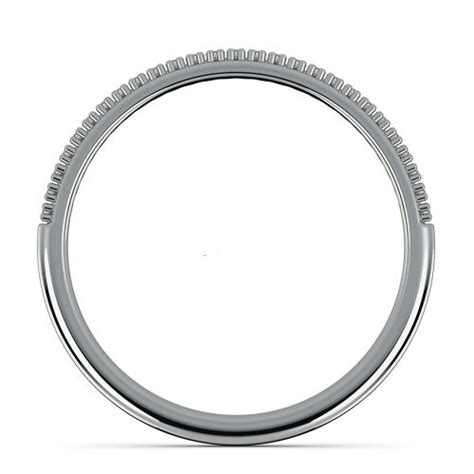 Wedding Ring Z 3 by Pave Wedding Ring In White Gold