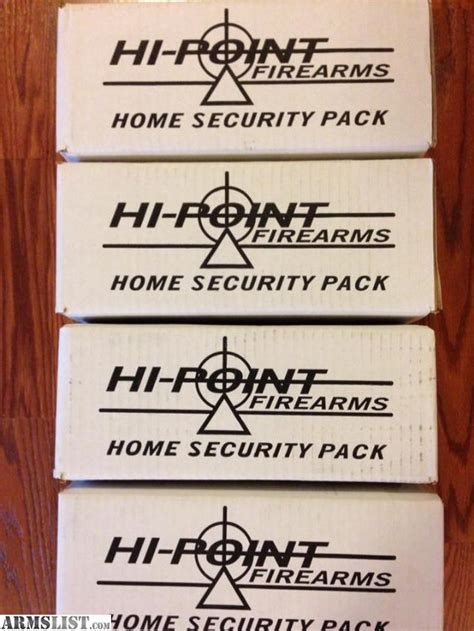 armslist for sale hi point model c9 home security pack