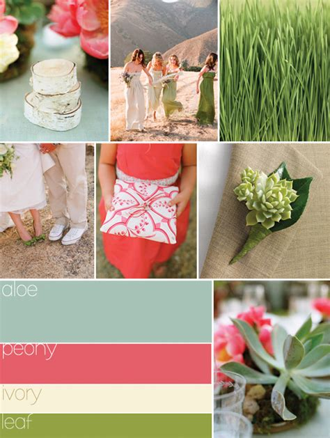 my stunning wedding for less summer wedding colors