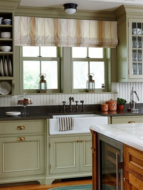Green Kitchen Cabinets Green Cabinets Kitchen