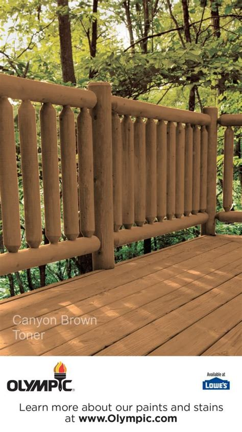 canyon brown woodland oil toner colors exterior