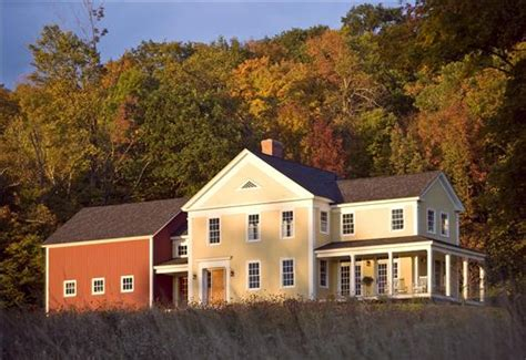 farmhouse plans with pictures new houses being built with classic new england style