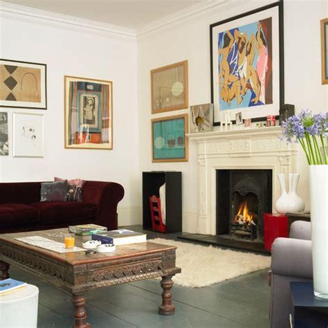 boho living room boho chic living room step inside a colour expert s boho chic home house tour housetohome