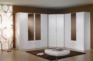 armoire d angle contemporaine coloris blanc noa armoire