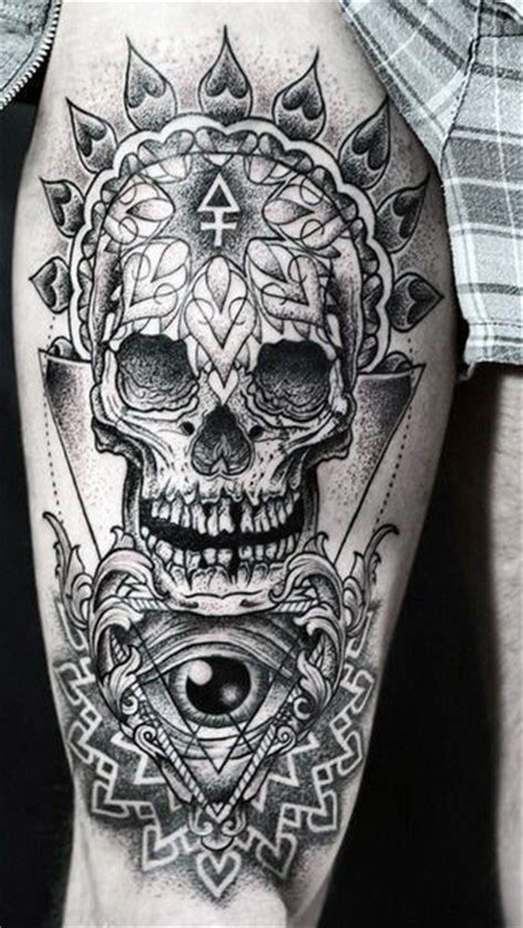 upper leg tattoos top 75 best leg tattoos for sleeve ideas and designs