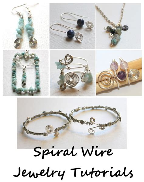 how to make jewelry with wire and spiral wire charm tutorial emerging creatively jewelry