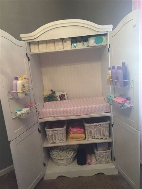 diy changing table ideas best 25 changing table storage ideas on