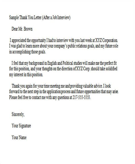 thank you letter template 37 thank you letter in word templates free premium