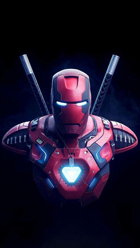 deadpool  ironman mix deadpool wallpaper superhero