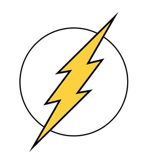 flash symbol the flash symbol by xurwin d3i5xlk png
