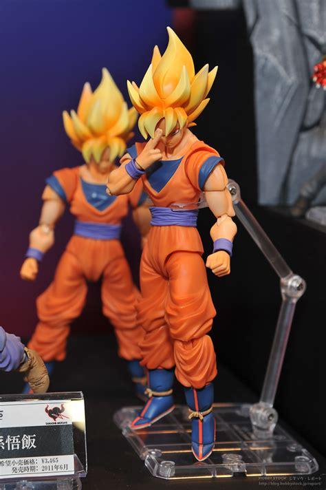 Shf Saiyan 3 Goku Original Ori Ss3 sh figuarts saiyan vegeta and goku the toyark news
