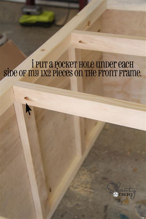 How To Build A 6 Drawer Dresser by Diy Furniture Wood Dresser With Wheels Shanty 2 Chic