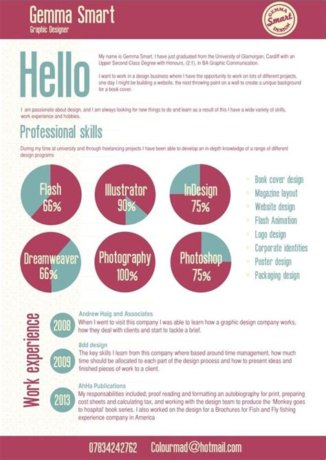 graphic design cv london 284 best infographic resumes images on pinterest