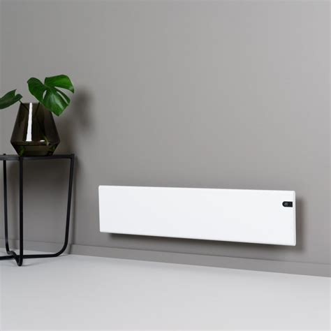 low profile electric radiator fan adax neo electric skirting panel heater wall mounted low